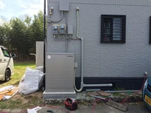 S様邸:蓄電池設置工事