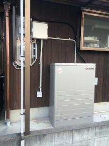 K様邸:蓄電池設置工事