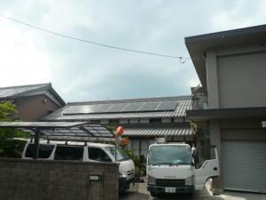 S様邸:太陽光パネル設置工事