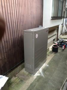 F様邸:蓄電池設置工事