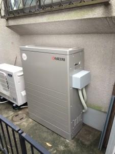 Y様邸:蓄電池設置工事