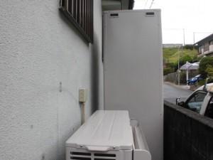 M様邸:エコキュート設置工事