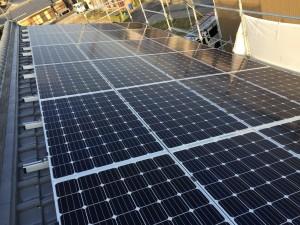 K様邸:太陽光パネル設置工事