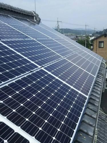 M様邸:太陽光パネル設置工事