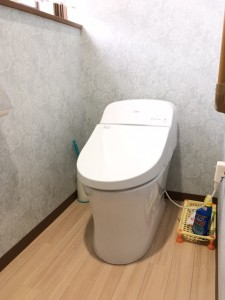 M様邸:トイレ工事