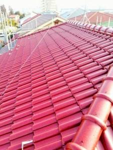 S様邸:屋根塗装工事