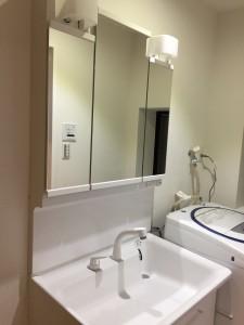 T様邸:洗面所リフォーム工事