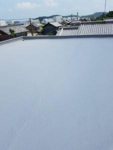 T様邸:屋上防水塗装工事