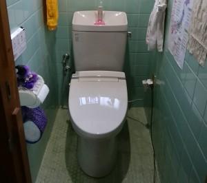 O様邸:シャワートイレ交換工事