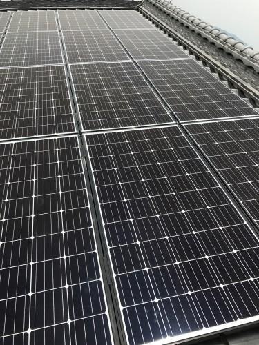 F様邸:太陽光パネル設置工事