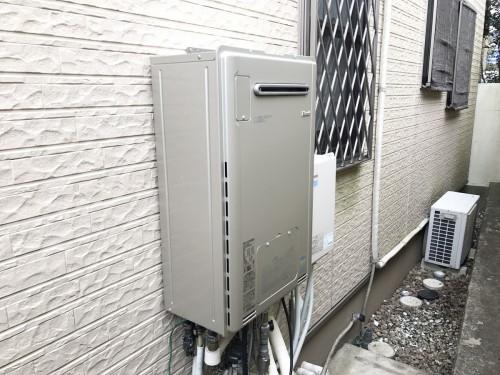 O様邸:ガス給湯器交換工事