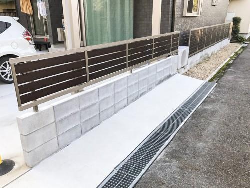 I様邸:フェンス設置工事