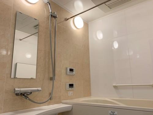築10年マンションの浴室リフォームのご紹介です。 中古マンションに住み替えされ、それに伴い水回りを全て入替させて頂きました。