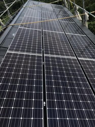 H様邸:太陽光パネル設置工事