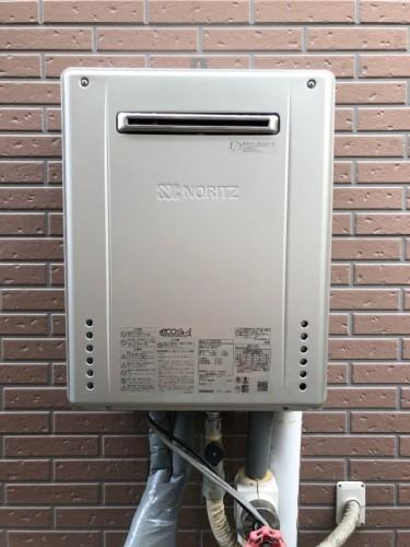 築14年戸建のガス給湯器交換工事のご紹介です。