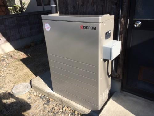 N様邸:蓄電池設置工事