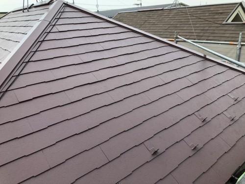 築16年戸建の外壁屋根塗装工事のご紹介です。