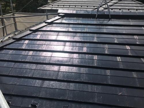 築22年戸建の外壁屋根塗装工事のご紹介です。