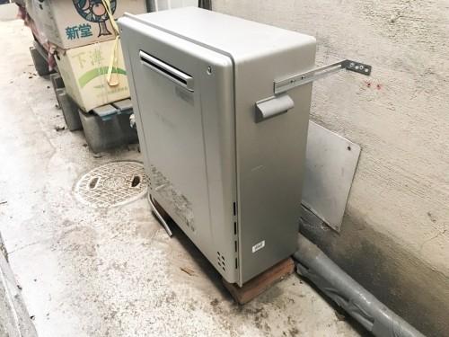 築50年戸建のガス給湯器入替工事のご紹介です。