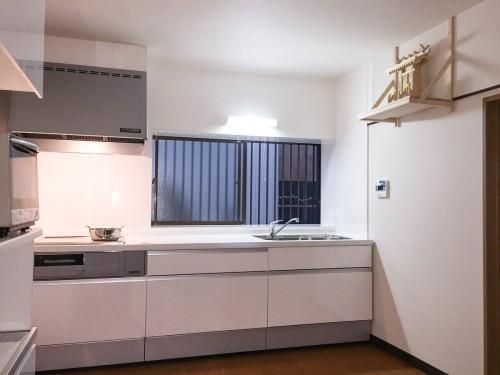 築62年戸建てのキッチンリフォームのご紹介です。