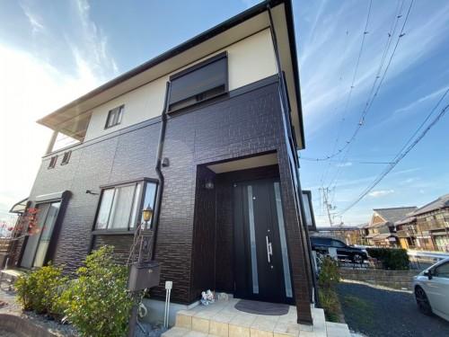 築16年戸建ての外壁屋根塗装工事のご紹介です。