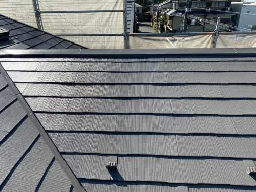 築24年戸建ての外壁屋根塗装工事のご紹介です。
