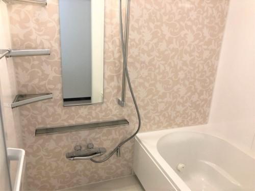 浴室リフォームで華やかな空間に