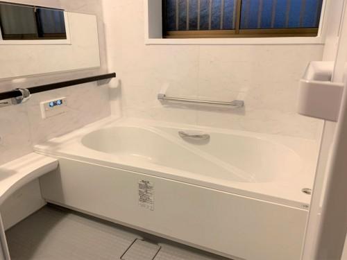 タイル風呂から一新!快適空間