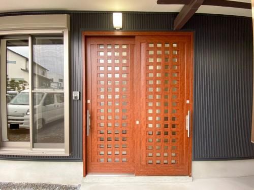築41年戸建ての玄関リフォームのご紹介です。