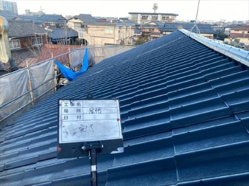 戸建ての屋根塗装工事のご紹介です。
