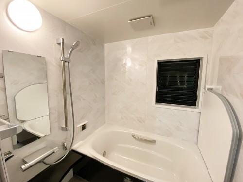簡単お掃除で浴室の綺麗さを維持