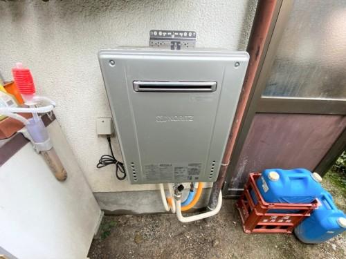 築38年戸建ての給湯器入れ替え工事のご紹介です。
