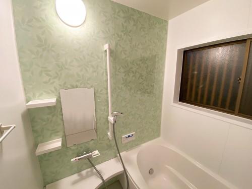 一日の疲れがとれる癒しのバスルーム