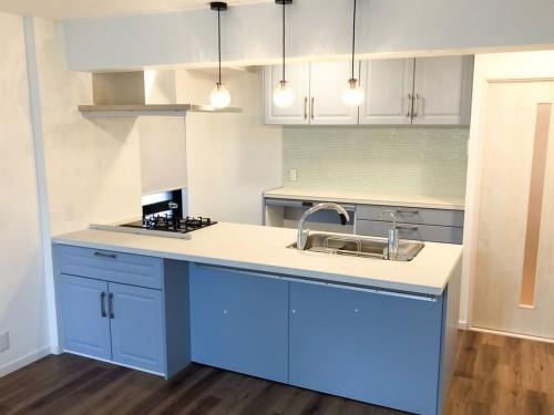 築40年マンションのキッチンリフォームのご紹介です。