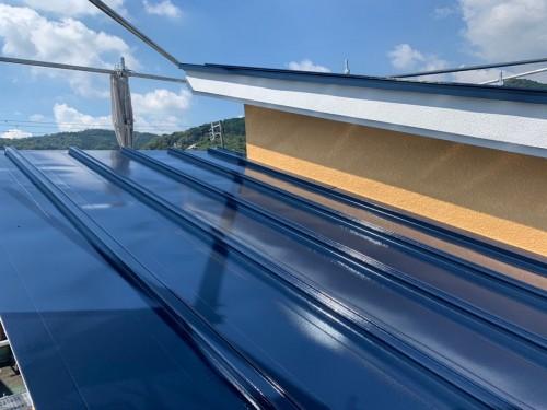 戸建ての外壁屋根塗装工事のご紹介です。