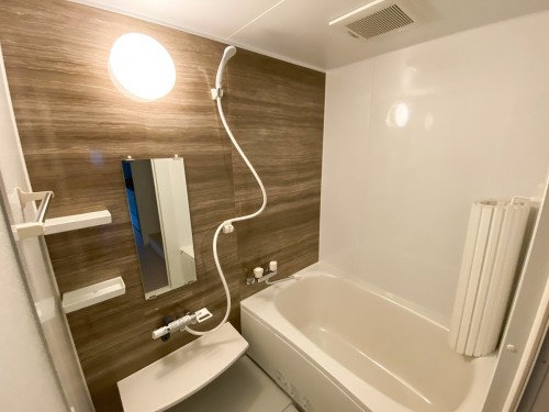ホッとできる浴室空間