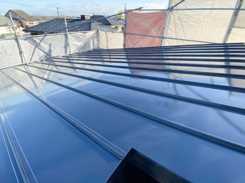 築10年戸建ての外壁屋根塗装工事のご紹介です。