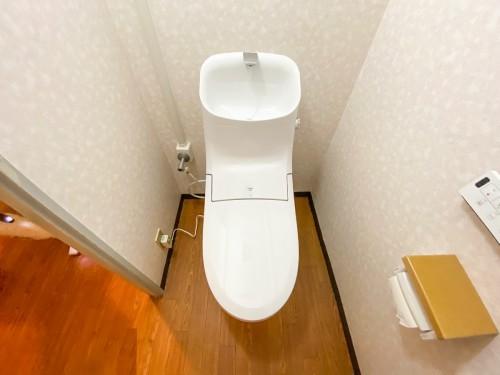 マンションのトイレリフォームのご紹介です。