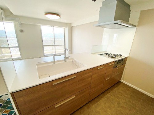 築19年マンションのキッチンリフォームのご紹介です。