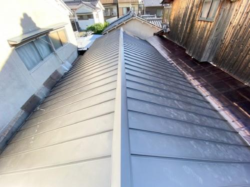 戸建ての屋根葺き替え工事のご案内です